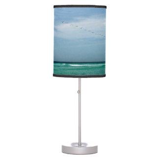 Destin Florida Sea - Sky - Birds Desk Lamp