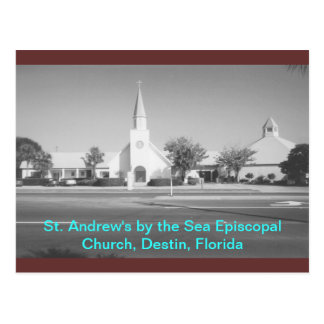 Destin, Florida.  St. Andrews by the Sea Episcopal Postcard