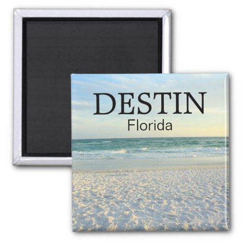 Destin Florida sugar sand beach sunset magnet