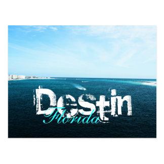 Destin, Forida Harbor Postcard