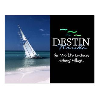 Destin la Florida, el pueblo pesquero más Tarjeta Postal
