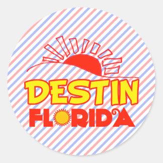 Destin la Florida Etiqueta