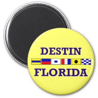 Destin Nautical Flags Magnets