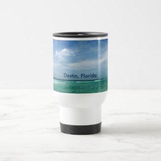 Destin pájaros del cielo de la Florida - mar Taza De Viaje