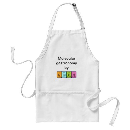 Destin periodic table name apron