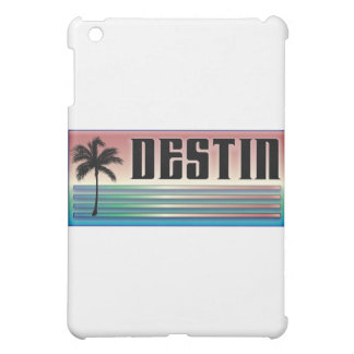 Destin Retro Rainbow and Palm Tree Case For The iPad Mini