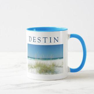 DESTIN ~ Sea Oats Beach Sunny Day Mug
