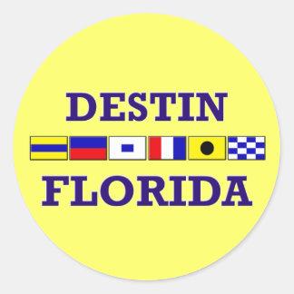 Destin Sticker