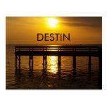 Destin Sunset Post Card