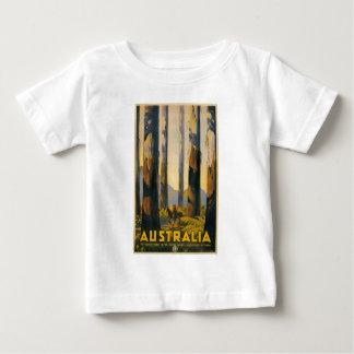 Destination Australia Travel Poster Infant T Baby T-Shirt