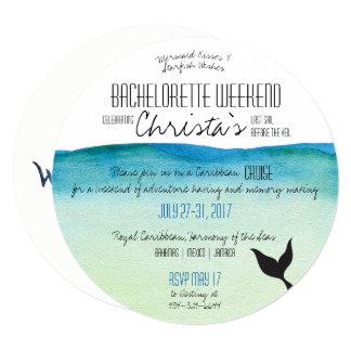 Destination Bachelorette Weekend Invitation