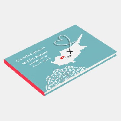 Destination Cyprus Wedding Guest Book