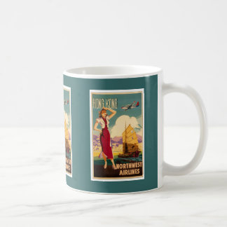 Destination: Hong Kong Retro Graphic Mug
