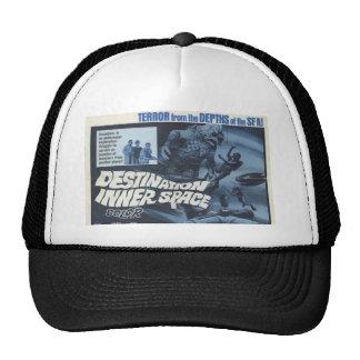 Destination Inner Space Retro Poster Hat