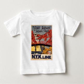 Destination: Japan Travel Poster Infant T Baby T-Shirt