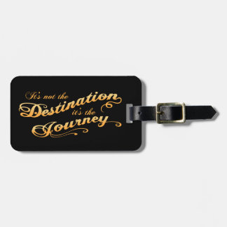 Destination Journey -txt Bag Tag
