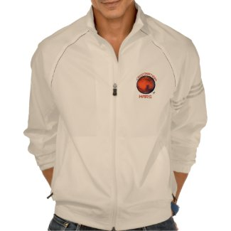 Destination Mars Adidas Zip Front Jacket