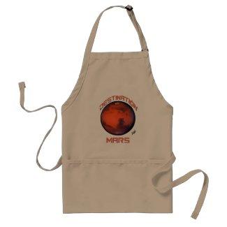 Destination Mars Apron