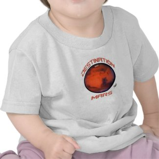 Destination Mars Baby T-Shirt