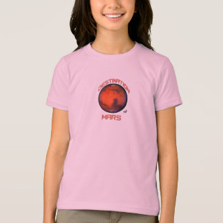 Destination Mars Babydoll T-Shirt For Girls