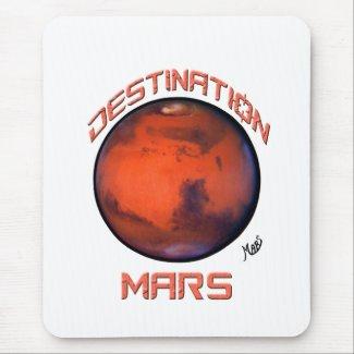 Destination Mars Mousepad