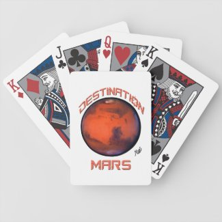 Destination Mars Playing Cards