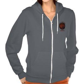 Destination Mars Women's Zip Front Sweatshirt