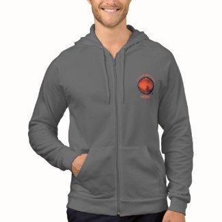 Destination Mars Zip Front Hooded Sweatshirt