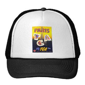 Destination Paris Cap Trucker Hats