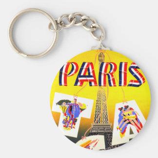 Destination Paris Key Chain