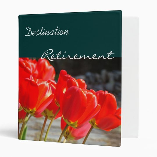 Destination Retirement binder Retiring Planner
