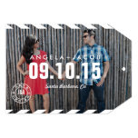 Destination Save the Date Photo Announcement Card
