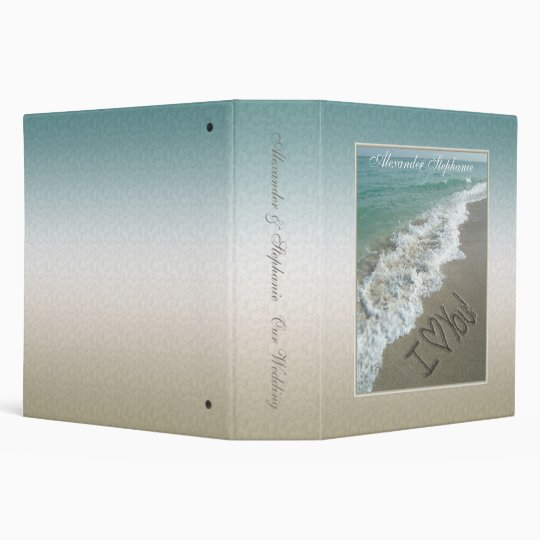 Destination Wedding Album Binder or Planner