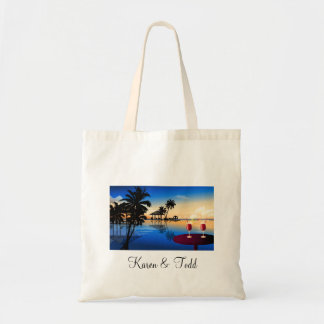 Destination wedding customize with your own name bag