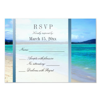 Destination Wedding DIY RSVP Card
