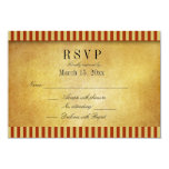 "Destination Wedding DIY RSVP 3.5"" X 5"" Invitation Card"