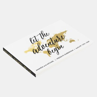 Destination Wedding Guest book | editable color