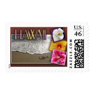 Destination wedding - Hawaii Stamp