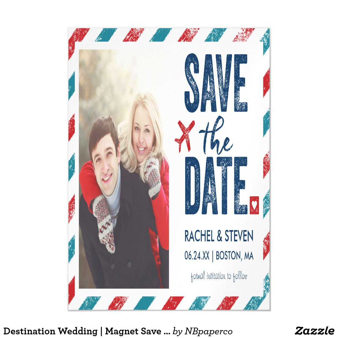 Destination Wedding | Magnet Save the Date
