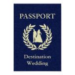destination wedding passport personalized invite