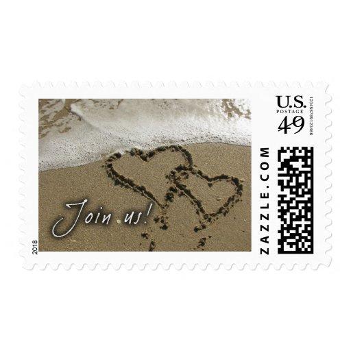 Destination wedding! postage