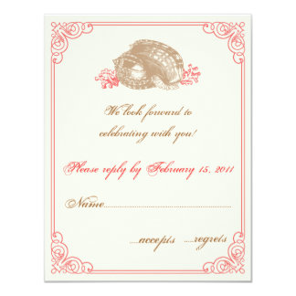 Destination Wedding  RSVP Card