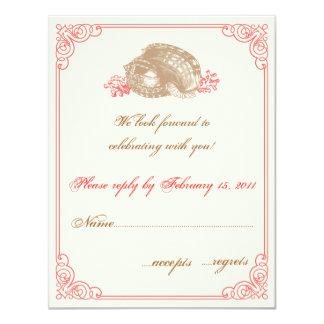 Destination Wedding  RSVP Personalized Invites