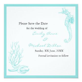 Destination Wedding Save the Date Card