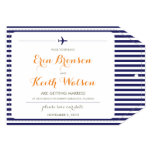 Destination Wedding Save the Date 5x7 Paper Invitation Card