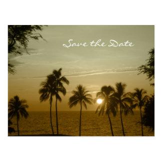 Destination Wedding Save the Date Mauna Kea Postcards
