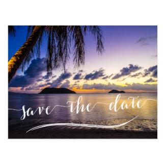 Destination Wedding Save The Dates Postcards