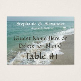 Destination Wedding Table Name Place Cards, Custom Business Card