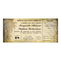 destination wedding tickets with RSVP 4x9.25 Paper Invitation Card (<em>$2.52</em>)