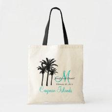 Destination Wedding Tote Bags Caribbean